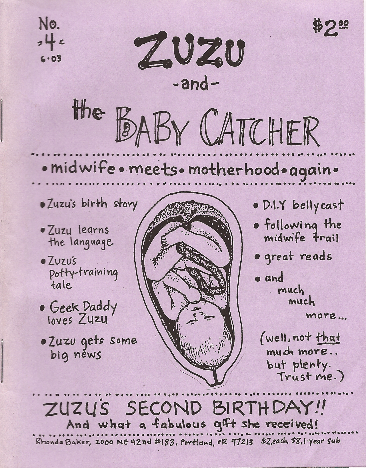 Zuzu and the Baby Catcher Issue 4