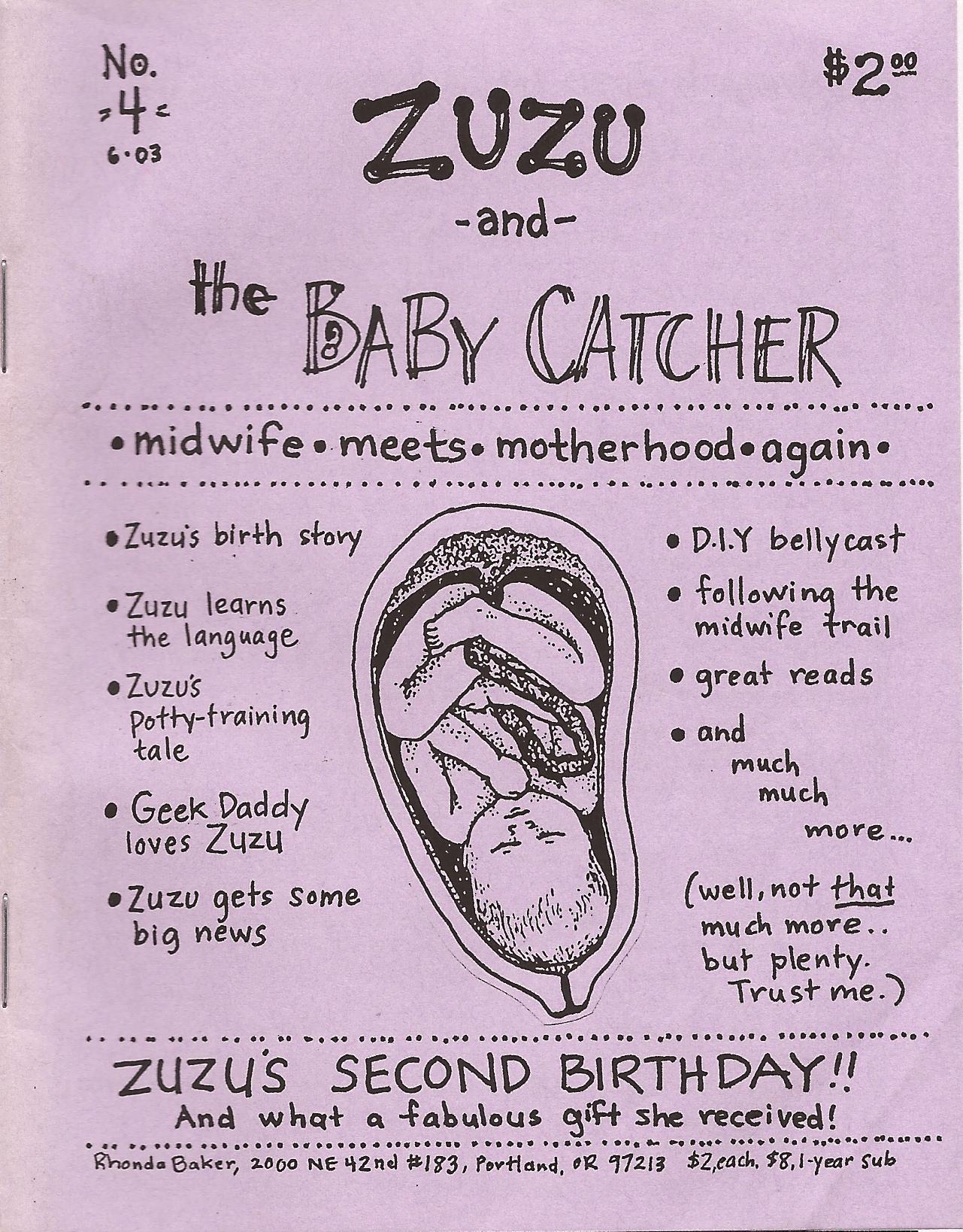 Zuzu and the Baby Catcher Issue 4